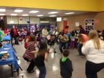 Eastside's Multi-Cultural Literacy Night offered an opportunity to dance to German music.