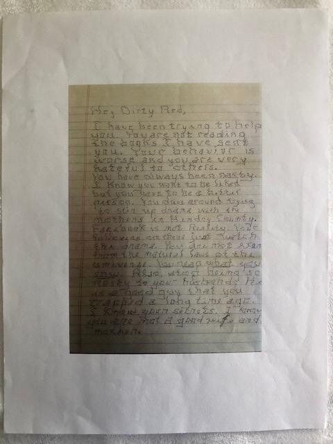 Letter no Prints