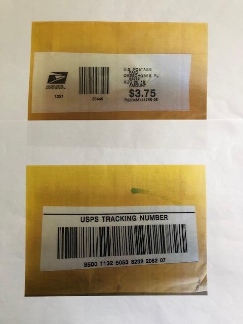 Zip It Envelope Postage